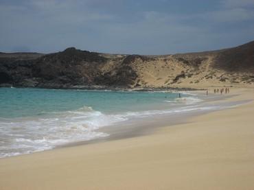 Playa de Pedro Barba Lanzarote